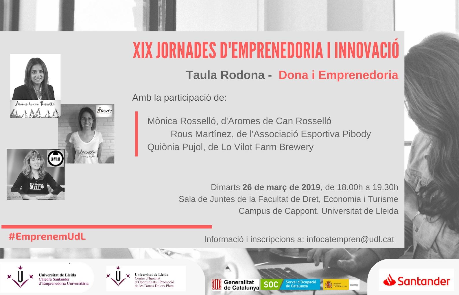 XIX Jornades d'Emprenedoria i Innovació