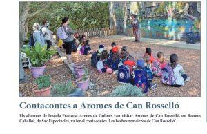 Contacontes a Aromes de Can Rosselló , publicat a la Mañana 21 maig 2021